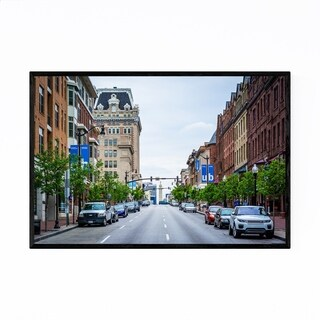 Noir Gallery Mount Vernon Baltimore City Framed Art Print