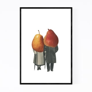 Noir Gallery Abstract Kitchen Vintage Pears Framed Art Print