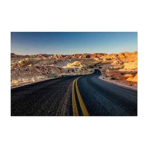 Noir Gallery Valley of Fire Nevada Road Unframed Art Print/Poster