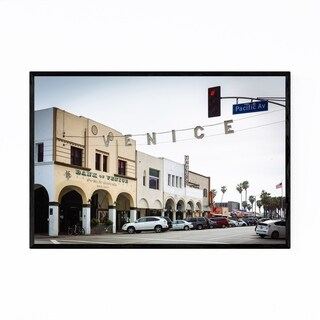 Noir Gallery Venice Beach Sign Los Angeles Framed Art Print