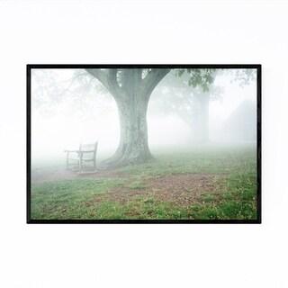 Noir Gallery Shenandoah Foggy Landscape Framed Art Print