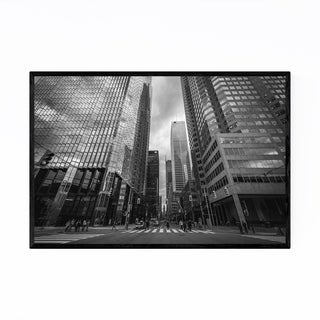 Noir Gallery Modern Downtown Toronto Framed Art Print