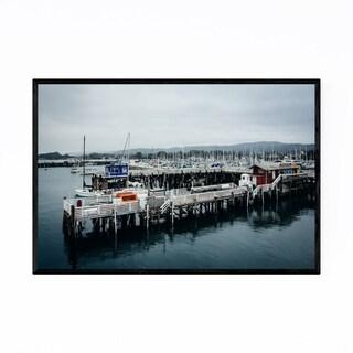 Noir Gallery Pier Wharf Monterey California Framed Art Print