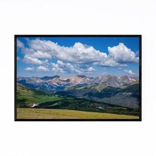 Noir Gallery Rocky Mountains Colorado Nature Framed Art Print