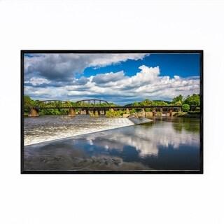 Noir Gallery Easton Pennsylvania River Framed Art Print