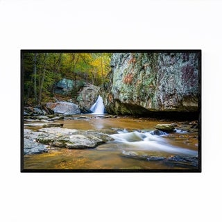 Noir Gallery Kilgore Falls Maryland Nature Framed Art Print