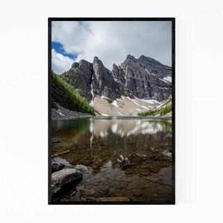 Noir Gallery Alberta Rocky Mountains Banff Framed Art Print