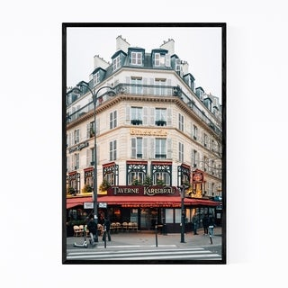 Noir Gallery Brasserie Tavern Paris France Framed Art Print
