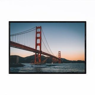 Noir Gallery Golden Gate Bridge San Francisco Framed Art Print