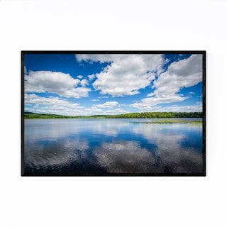 Noir Gallery Pond Concord New Hampshire Framed Art Print
