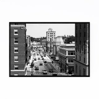 Noir Gallery Aurora IL Paramount Theater City Framed Art Print