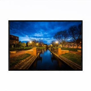 Noir Gallery Downtown Frederick Maryland Framed Art Print
