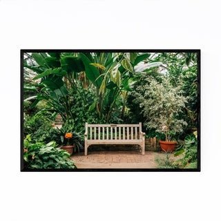 Noir Gallery Peoria Illinois Botanical Garden Framed Art Print