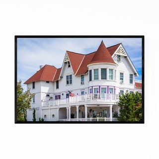 Noir Gallery Somers Point, New Jersey House Framed Art Print