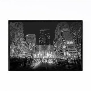 Noir Gallery Philadelphia Dilworth Park Framed Art Print