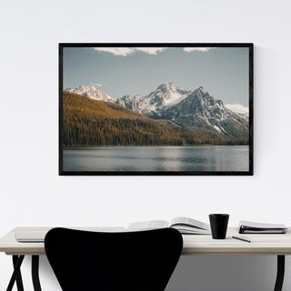 Noir Gallery Sawtooth Mountains Idaho Nature Framed Art Print