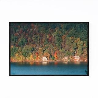 Noir Gallery Devils Lake Wisconsin Autumn Framed Art Print