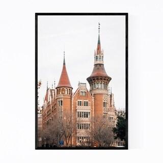 Noir Gallery Barcelona Spain Architecture Framed Art Print