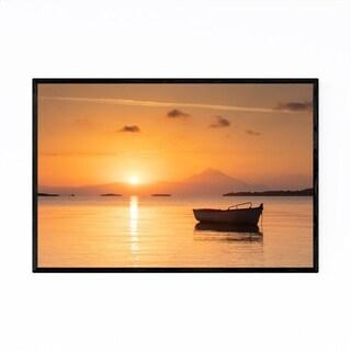 Noir Gallery Chalkidiki Greece Coastal Beach Framed Art Print