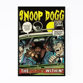 Noir Gallery Snoop Dogg Hip Hop Music Rappers Framed Art Print