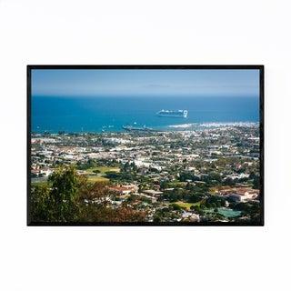 Noir Gallery Santa Barbara California View Framed Art Print
