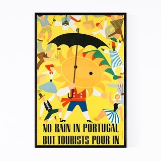 Noir Gallery Portugal Retro Vintage Poster Framed Art Print