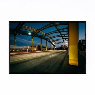 Noir Gallery Baltimore Maryland Howard Bridge Framed Art Print