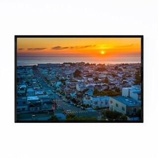Noir Gallery Sunset District San Francisco CA Framed Art Print