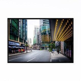 Noir Gallery Boston Urban Cityscape Framed Art Print