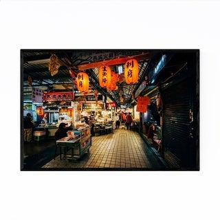 Noir Gallery Taipei Taiwan Street Market Framed Art Print