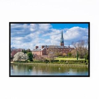 Noir Gallery Annapolis Maryland Church Framed Art Print