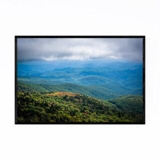Noir Gallery Grandfather Mountain Blue Ridge Framed Art Print