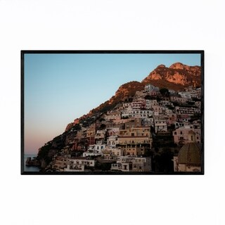 Noir Gallery Positano Amalfi Coast Italy Framed Art Print