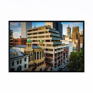 Noir Gallery San Francisco California Skyline Framed Art Print