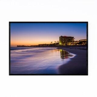Noir Gallery Coastal Beach Ventura California Framed Art Print