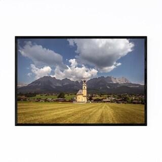 Noir Gallery Wilder Kaiser Mountains Austria Framed Art Print