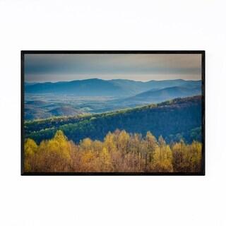 Noir Gallery Shenandoah Appalachian Mountains Framed Art Print