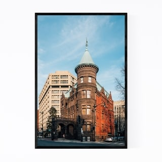 Noir Gallery Urban Architecture Washington DC Framed Art Print