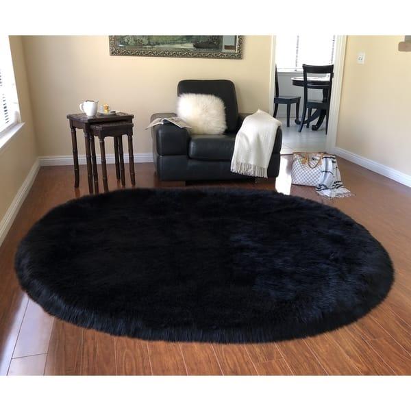 Oval Shape Area Rug