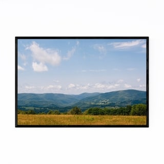 Noir Gallery West Virginia Rural Mountains Framed Art Print
