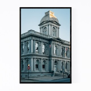 Noir Gallery Portland Maine City Architecture Framed Art Print