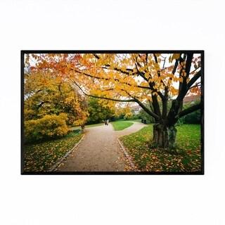 Noir Gallery Copenhagen Autumn Fall Foliage Framed Art Print