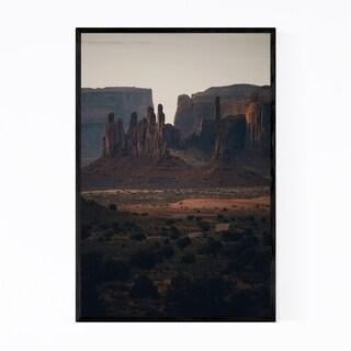 Noir Gallery Monument Valley Utah Desert Framed Art Print