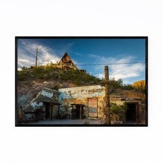 Noir Gallery Oatman, Arizona Mine House Framed Art Print