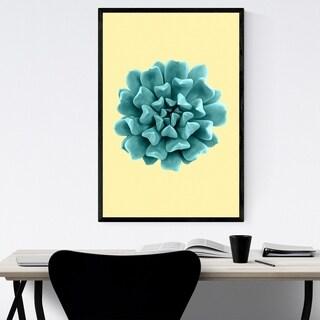 Noir Gallery Succulent Plant Botanical Floral Framed Art Print