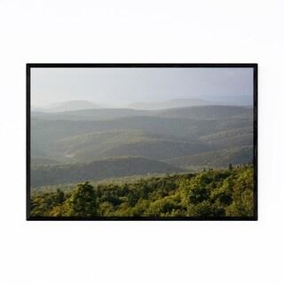 Noir Gallery West Virginia Spruce Knob Framed Art Print