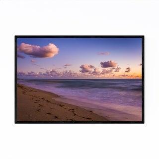 Noir Gallery Jupiter Island Florida Beach Framed Art Print