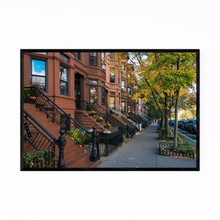 Noir Gallery Park Slope Brooklyn New York NYC Framed Art Print