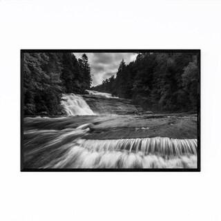 Noir Gallery Black & White Dupont State Forest Framed Art Print