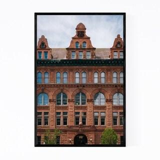 Noir Gallery City Hall Peoria Illinois Framed Art Print